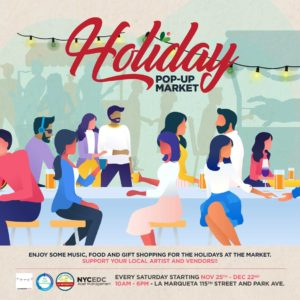 shop dine pop up east harlem holidays