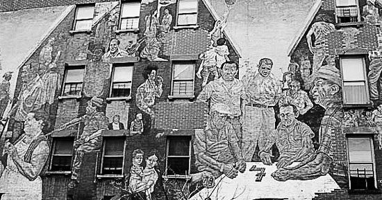 spirit of east harlem mural