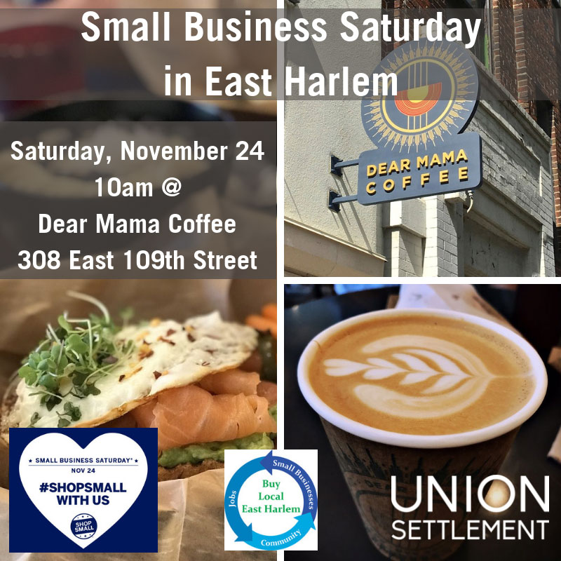 East Harlem Small Business Saturday 2018
