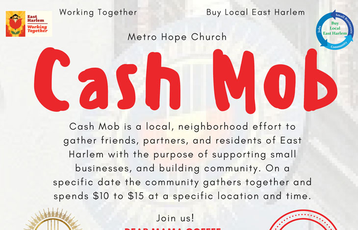 Cash Mob Dear Mama april 2019