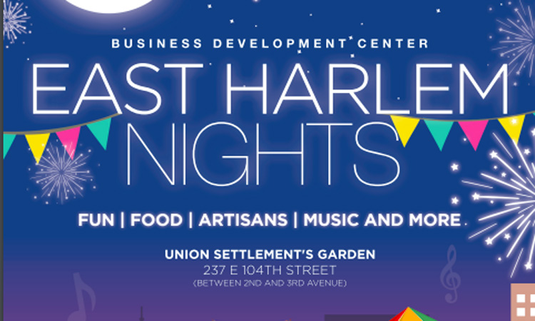 east harlem nights 2019 flyer may 31