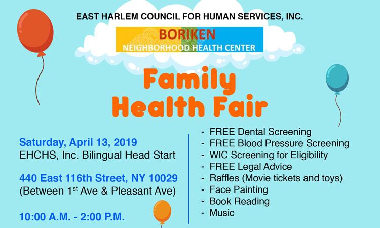 CHILDRENS HEALTH FAIR flyers thumbnail