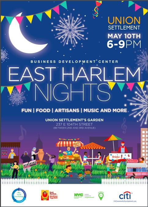 east harlem nights 2019 flyer