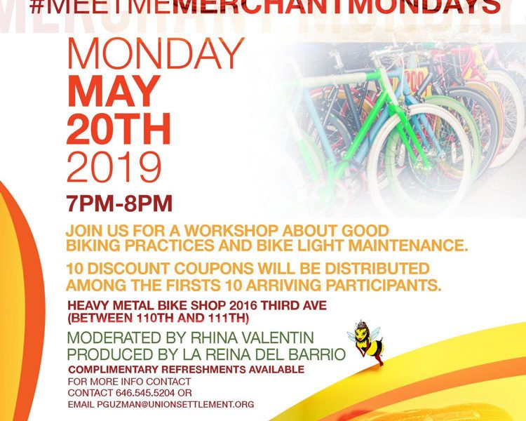meet me merchant mondays Heavy Metal Bike Shop 2019