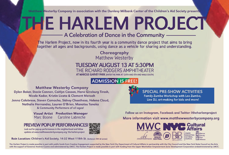 the harlem project at marcus garvey park