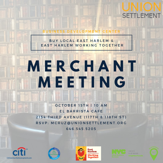 Buy Local Merchant Meeting El Barrista Cafe