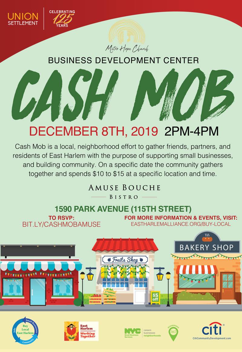 cash mob amuse dec 2019