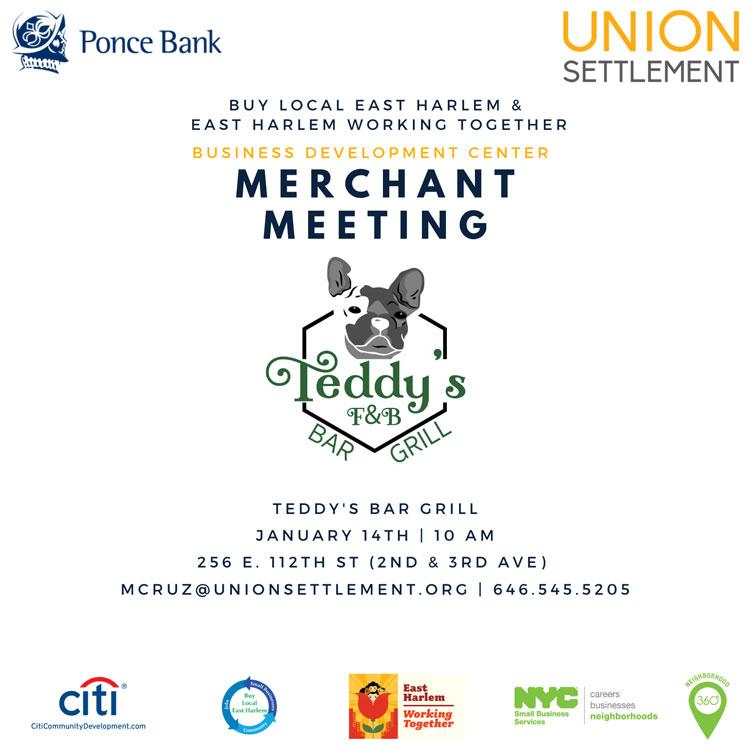 Merchant Meeting January 14 2020