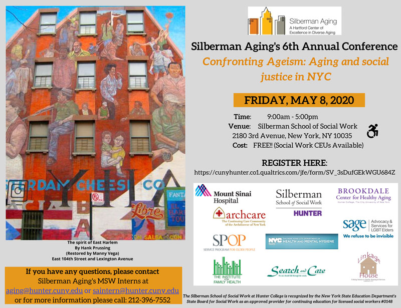 Silberman School of Social Work Aging Conference