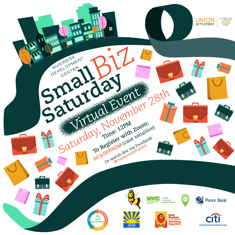 Small Business Saturday buy local east harlem
