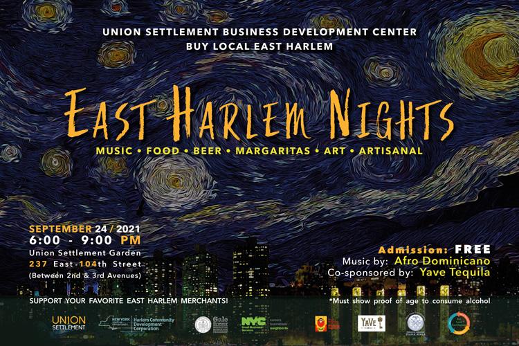 East Harlem Nights 2021 Flyer Promo