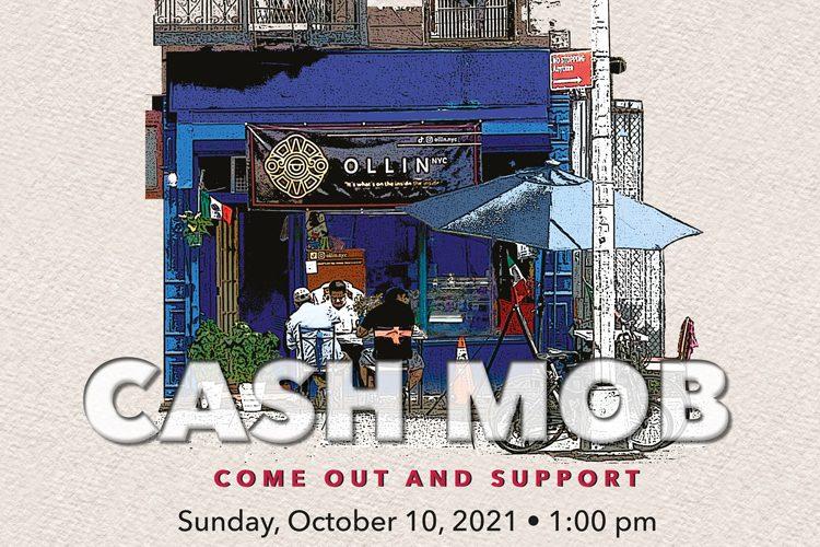 Buy Local Cash Mob Cafe Ollin 10-2021